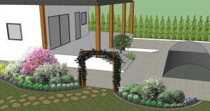 Przykład projektu ogrodu odGreen Solutions