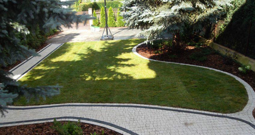 Ogrodowe chodniki, alejki i ścieżki