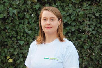 Bożena Dobrzykowska brygadzistka dospraw pielęgnacji zieleni