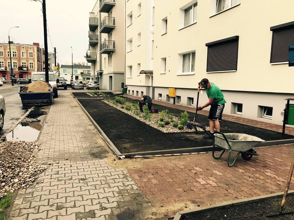 Green Solutions wtrakcie pracy