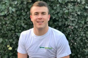 Maciej Dębowski - kierownik zespołu iwspółwłaściciel firmy ogrodniczej Green Solutions