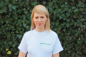 Maria Chomicz współwłaścicielka firmy ogrodniczej Green Solutions