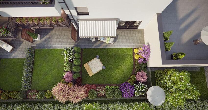 Przykład realizacji - projektowanie ogrodów Poznań