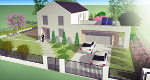 Projekty ogrodów koło domu - Green Solutions