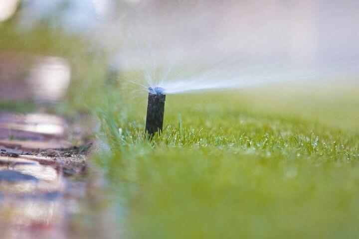 Realizacje - systemy nawadniania trawników