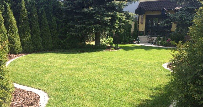 Zakładanie ogrodów - przykład realizacji