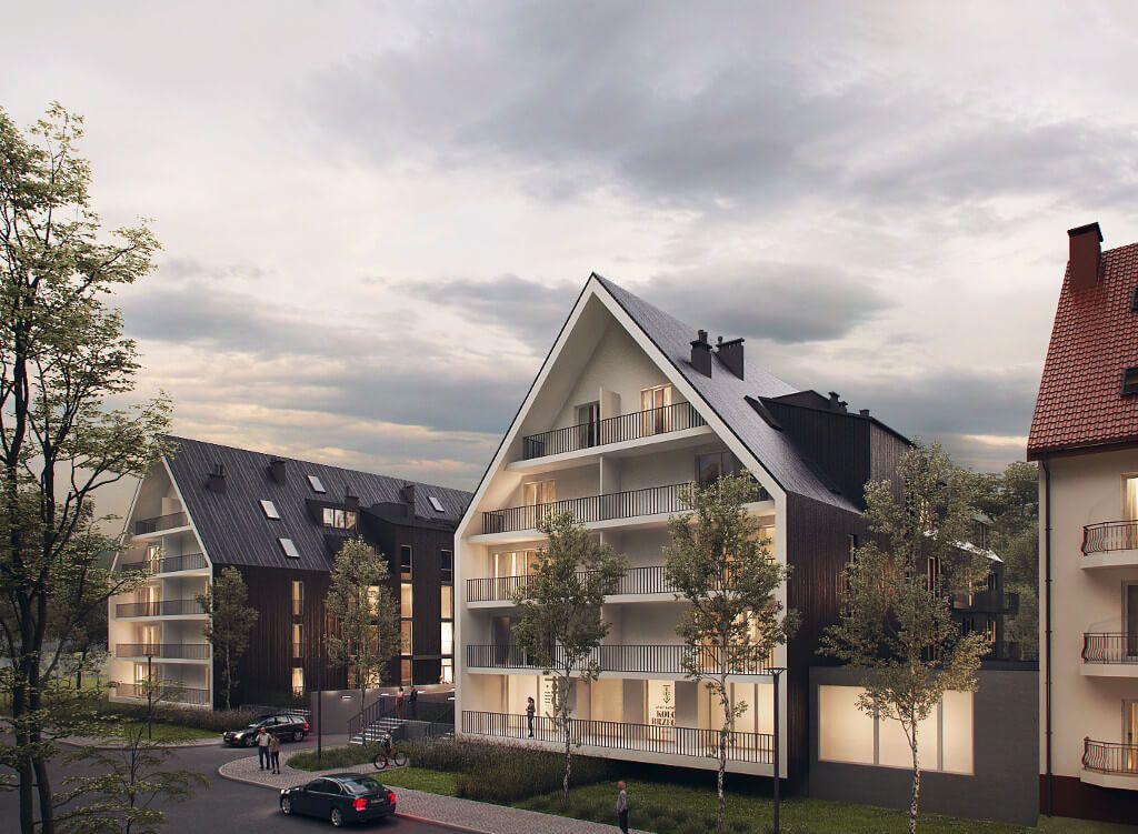 Zieleń komercyjna - projekt zieleni naosiedlu mieszkalnym