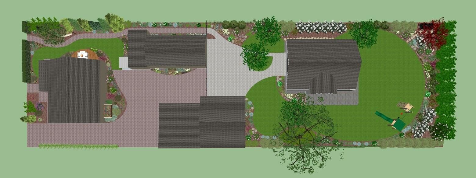 Projektowanie ogrodów Poznań - darmowa wizualizacja