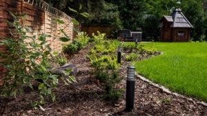 Realizacja projektu - oświetlenie ogrodu