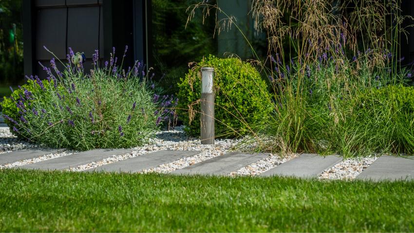 Zakładanie ogrodu - oświetlenie