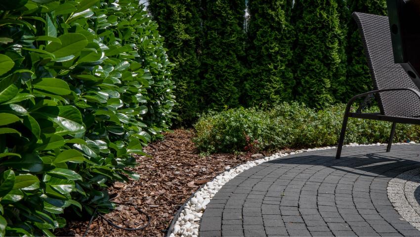Projekt izakładanie ogrodu - przykładowa realizacja