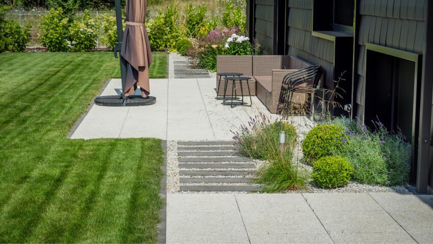 Projektowanie ogrodów - taras