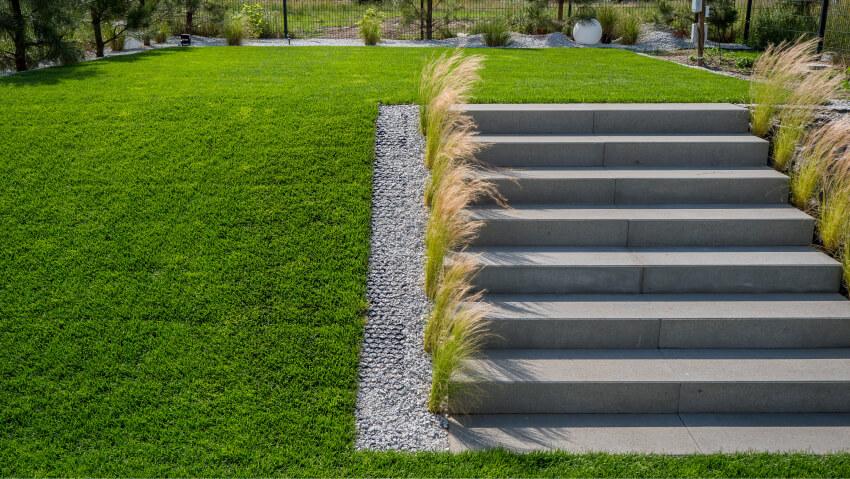 Projektowanie ogrodów - przykład realizacji