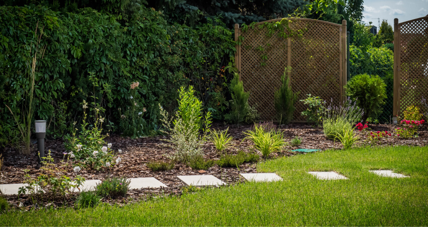 Urządzanie ogrodu - przykładowa realizacja