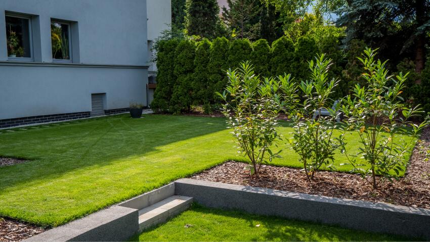 Ogród - przykład realizacji projektu Green Solutions