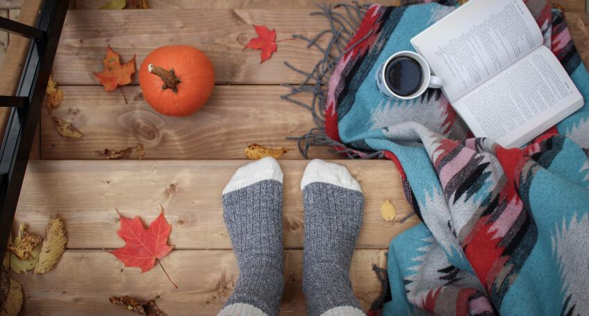 Aranżacja tarasu na jesień